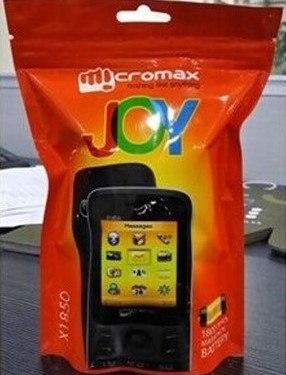 Micromax Joy - телефоны в ультрасовременной упаковке