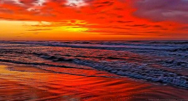 Откуда у морей цветные названия