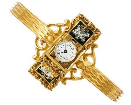 Изобретение наручных часов оспаривают две знаменитые швейцарские фирмы Patek Philippe и Abracham-Louis Breguet.