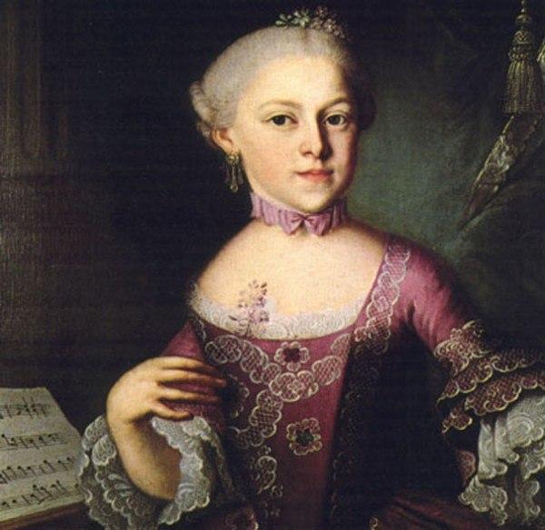 Почему не прославилась гениальная сестра Моцарта?