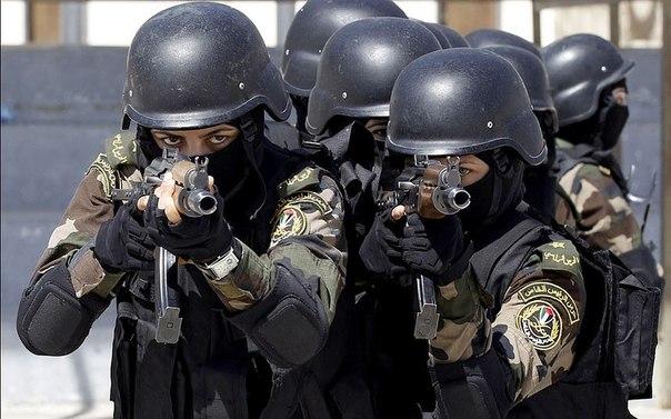 Личная женская охрана президента Палестины