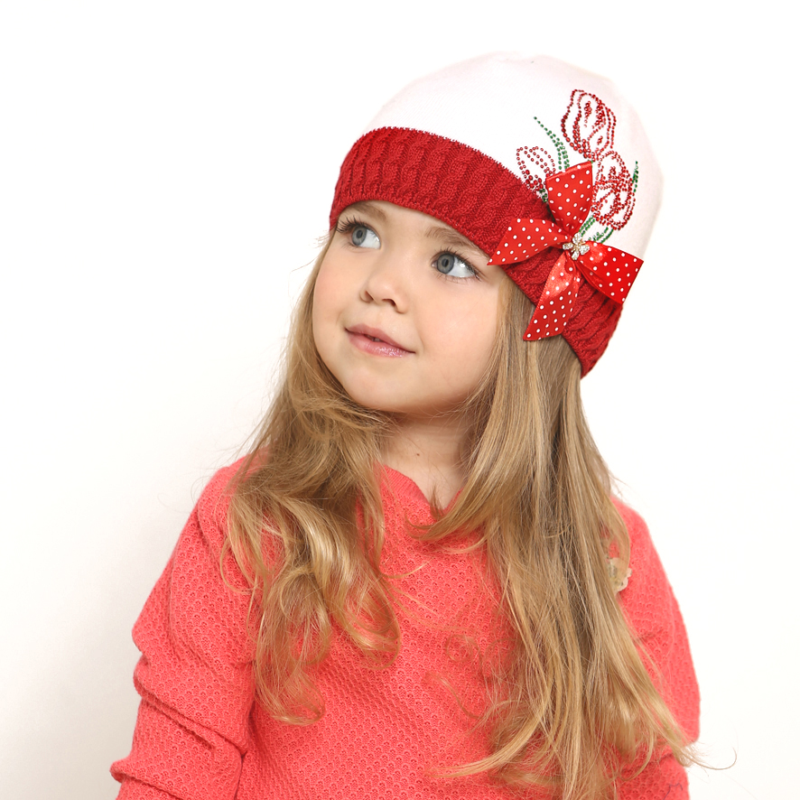 Красивые шапки для детей