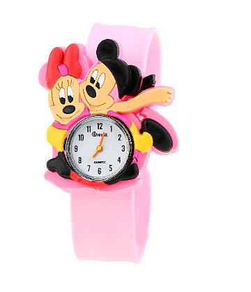 Детские мультяшные часы слэп с любимыми героями: микки маус, бэтмен, человек-паук, спанч боб и др. Раздачи до 8 марта.