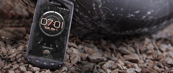 Kyocera Torque KC-S701 - японский защищённый смартфон для Европы