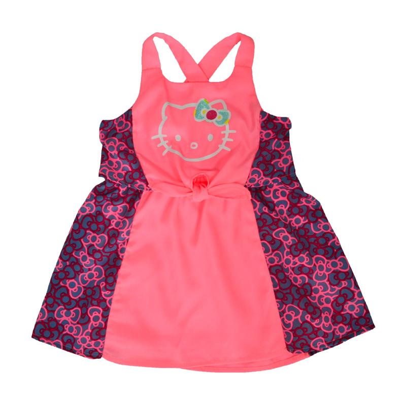 Платье от Хэллоу Китти станет украшением гардероба любой маленькой модницы.