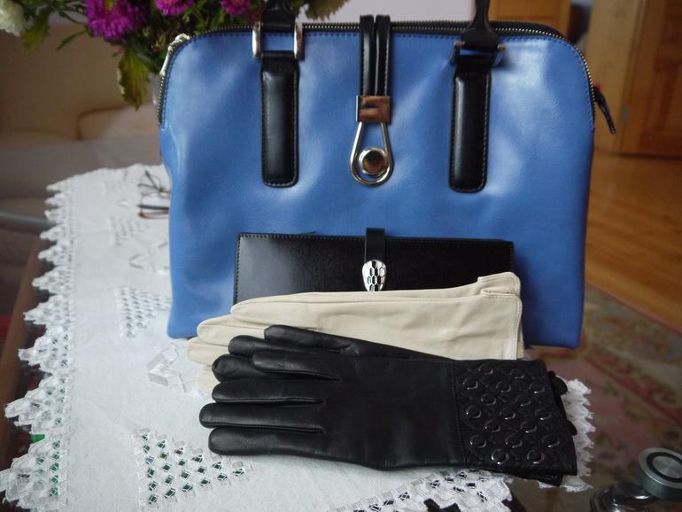 сумочки, перчатки