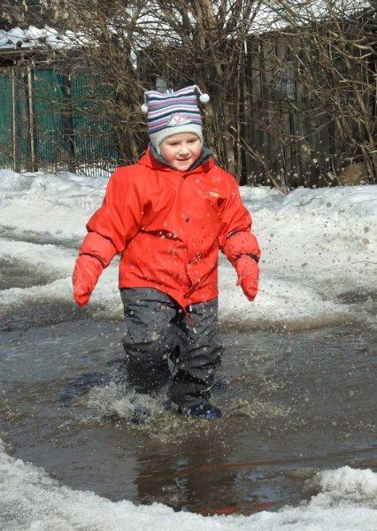 Детская непромокаемая одежда Тим: защищает верхнюю одежду от воды и грязи. И лужи теперь не страшны! Готовимся к