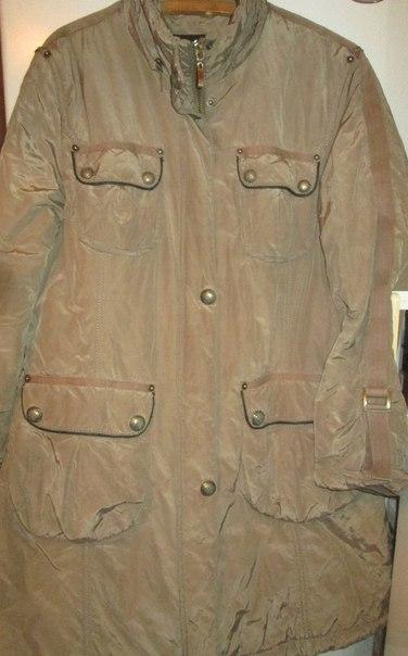 осеннее пальто 48-50
