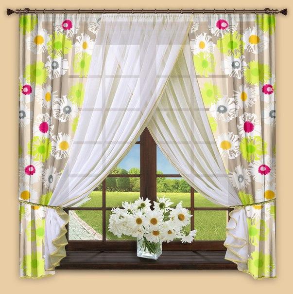 Сбор заказов. Обновим интерьер к весне? Готовые комплекты штор и гардин для кухни и гостиной. Множество моделей и цветов, проверенное качество! Новинки!
