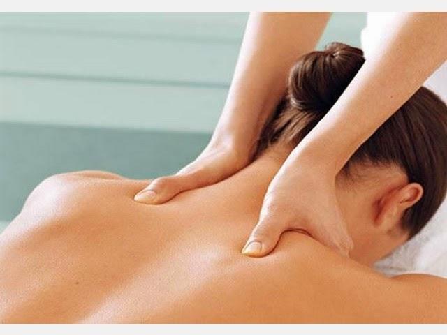 Как делать массаж шеи?
