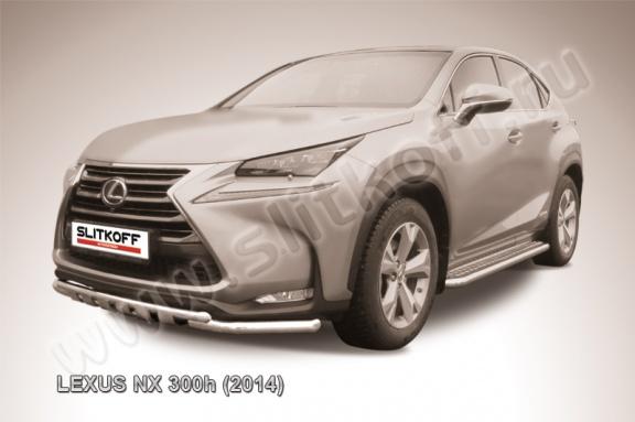 Новая линейка защитно-декоративного оборудования Lexus NX 300h (2014)