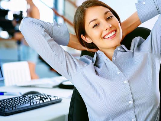Правильная осанка - упражнения при сидячей работе