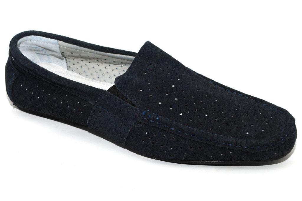 Обуем мужские ножки в макасинчики из натуральной кожи замши-.3 сбор