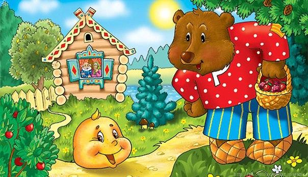 Существует английская народная сказка аналог русского Колобка в которой главного героя зовут Джонни-пончик
