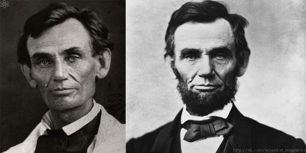 В 1860 году, за несколько недель до того, как Линкольна выбрали президентом США, он получил письмо от 11-летней девочки Грейс Беделл.