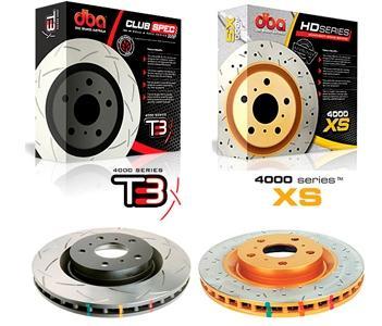 Тормозные диски DBA серия 4000 T3