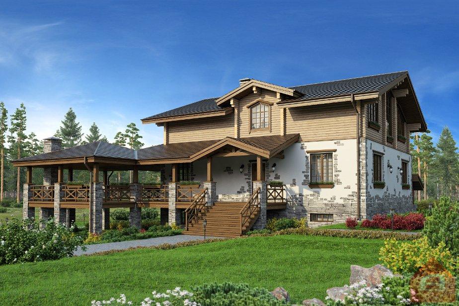 Особенности строительства домов в стиле шале