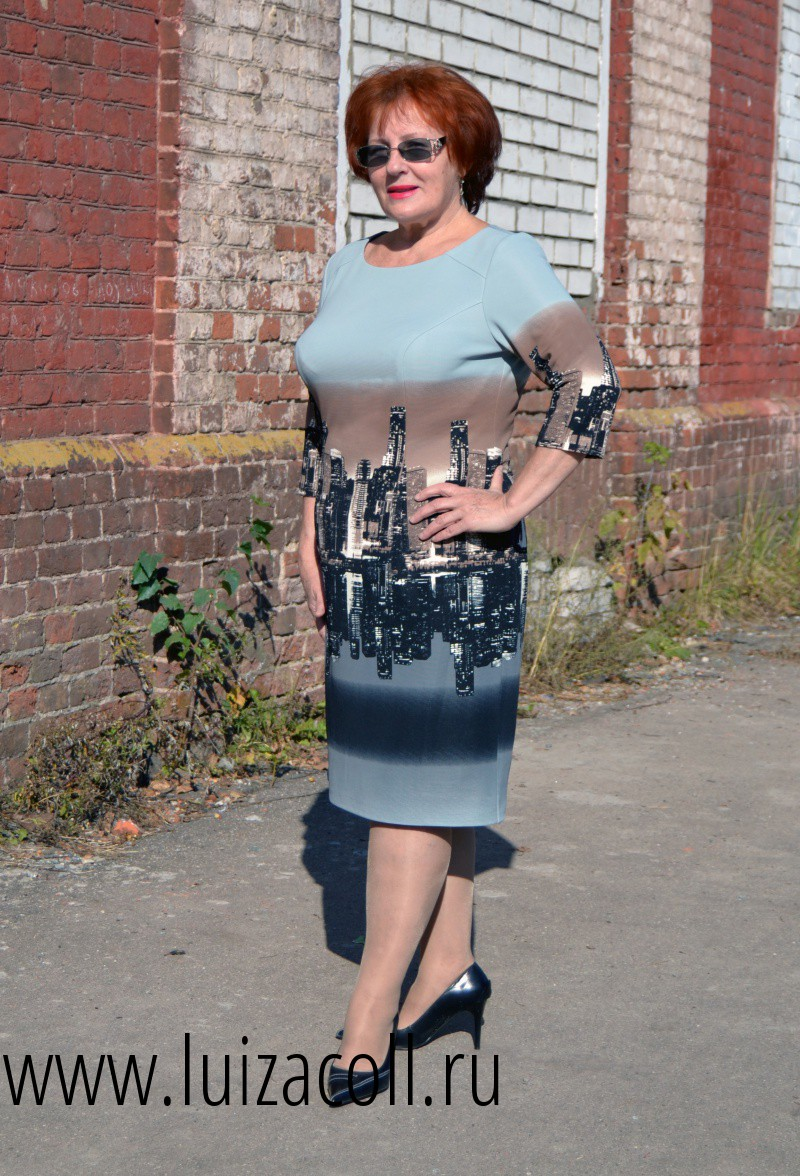 Сбор заказов. Женская одежда больших размеров ТМ Луиза collection (размеры до 66