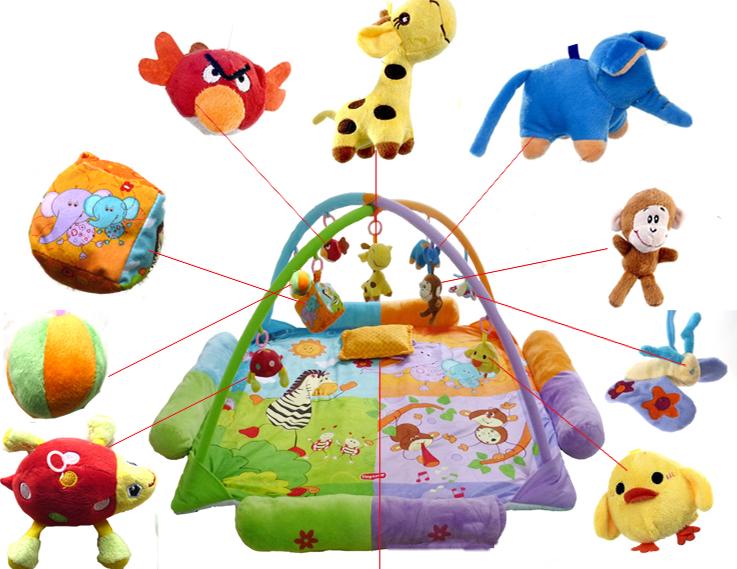 Сбор заказов. Детские игровые-развивающие коврики Fisher Prace, Disney, Hello Kitty и другие. Китай