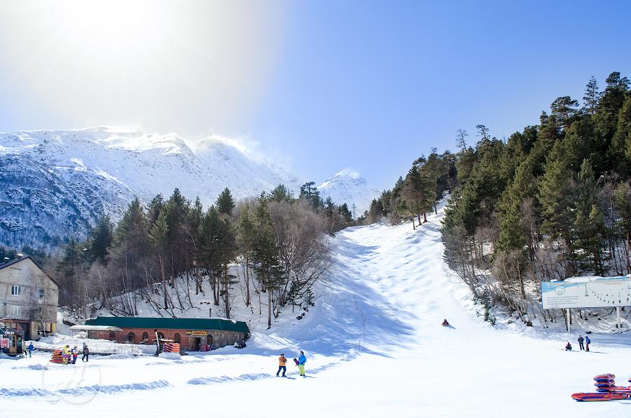 Приэльбрусье, февраль-март 2015