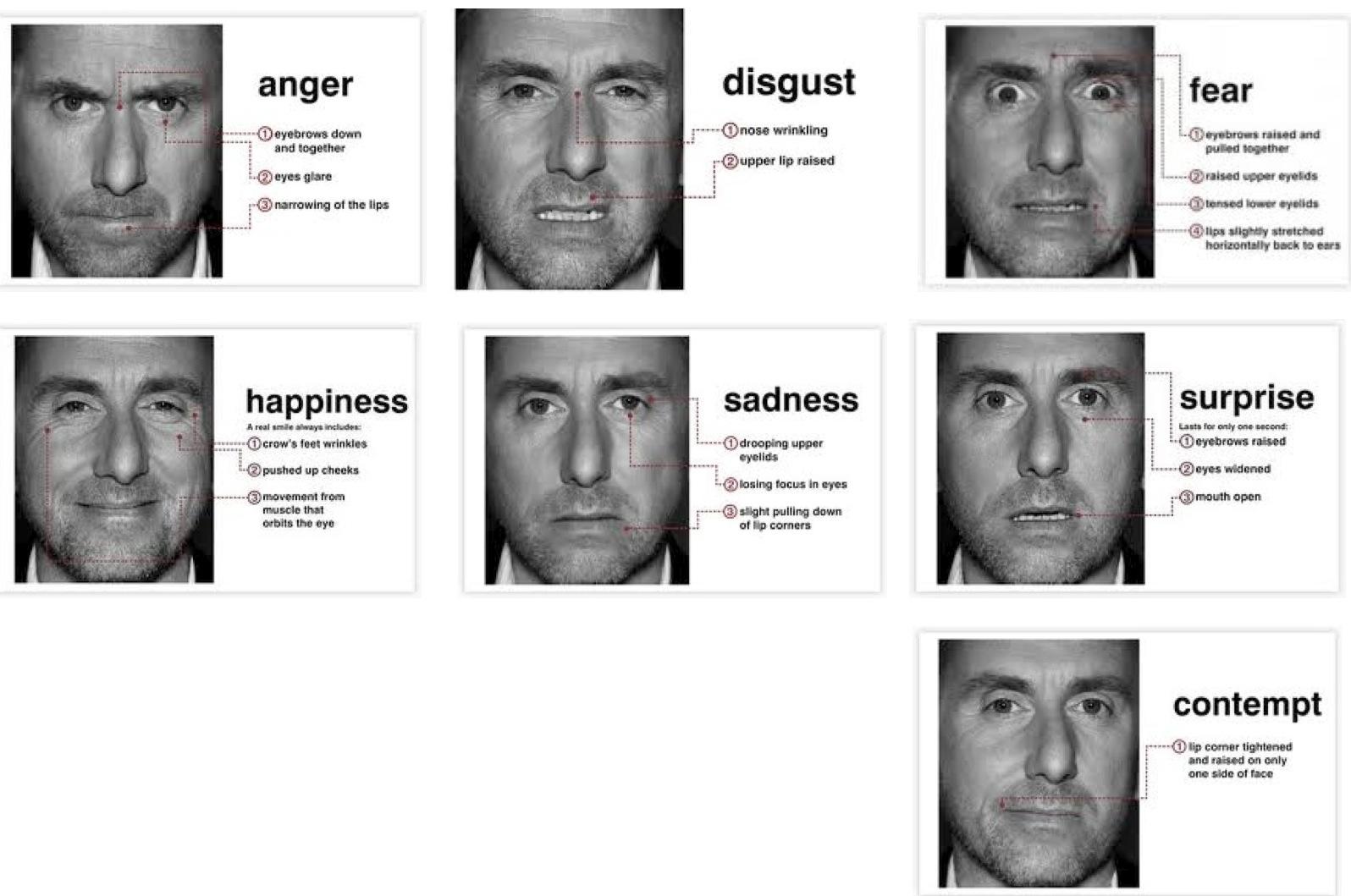 Ищем следы эмоций