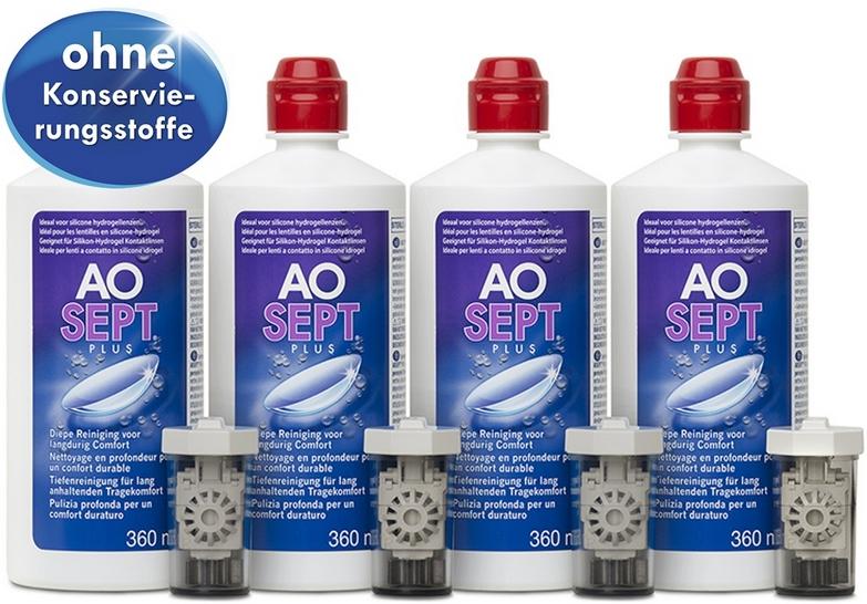 AOSEPT PLUS - средство очистки контактных линз