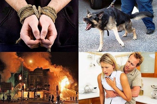Правила поведения в опасных ситуациях.
