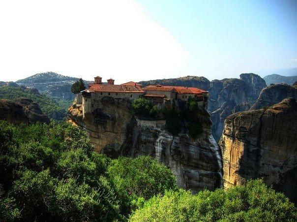 Шесть православных монастырей Метеоры
