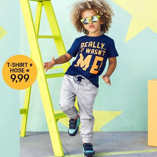 H&M | Штанишки + футболка всего за 9,99 евро