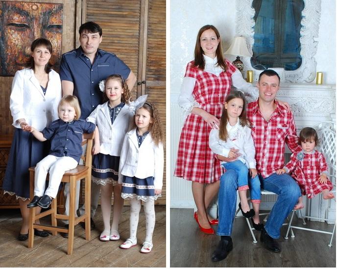 Одежда в едином стиле для всей семьи и для пар!