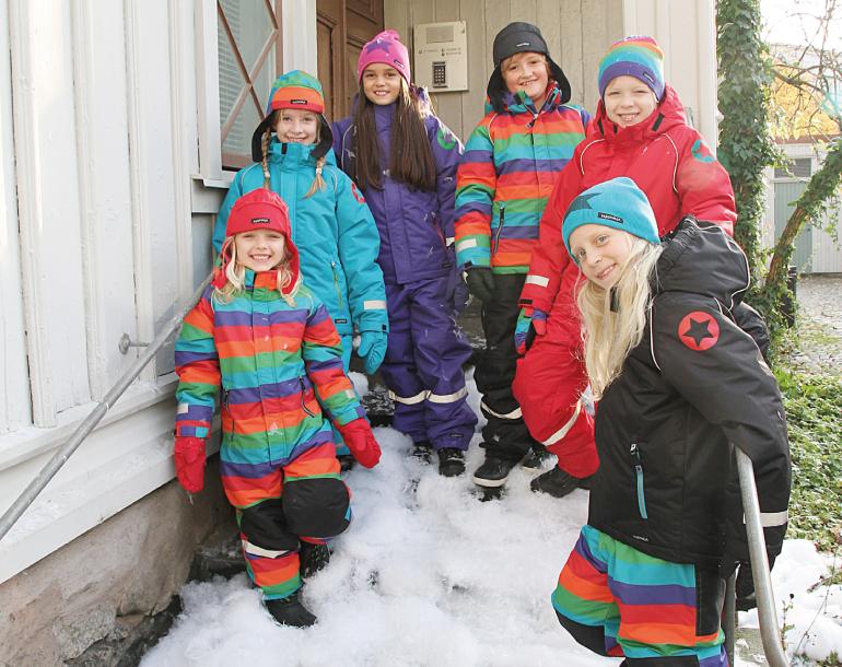 Villervalla - яркая одежда из Швеции