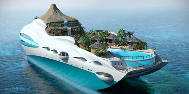 Шикарный концепт яхты.