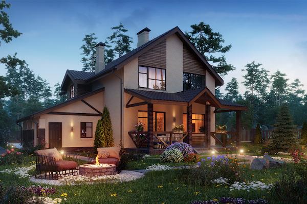 Строительство домов под ключ, со скидкой от 20 до 40%, проект дома в подарок