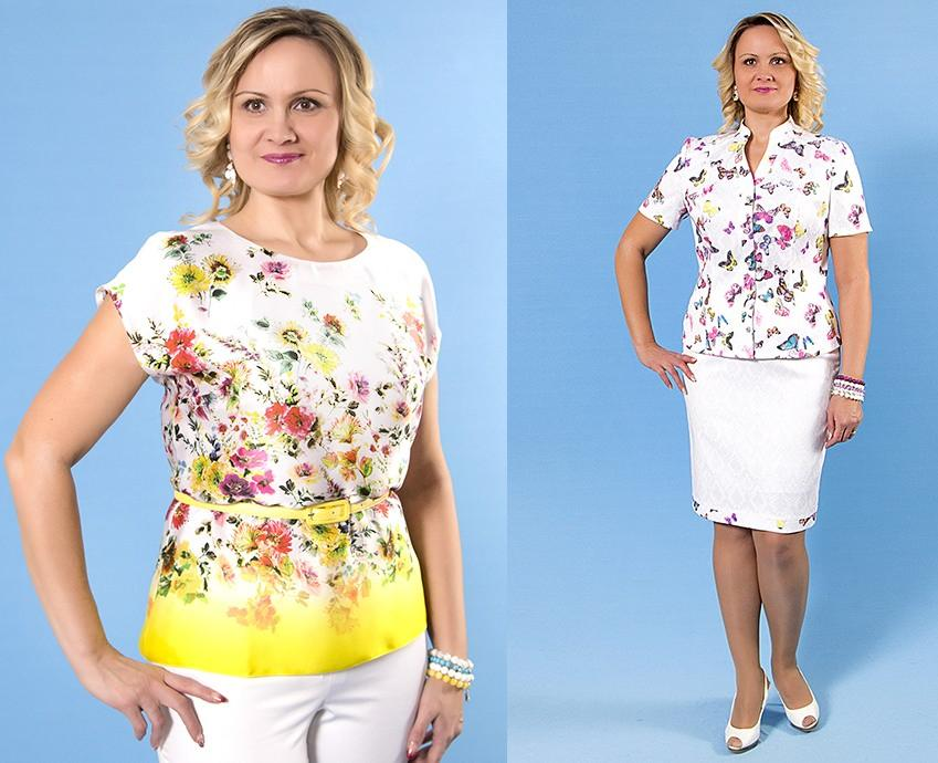 Viгgi-stylе - 2 Изящество и стиль для каждой женщины в любом размере. Весенняя коллекция платьев, жакетов, юбок с 48 по 60 размеры. Без рядов!