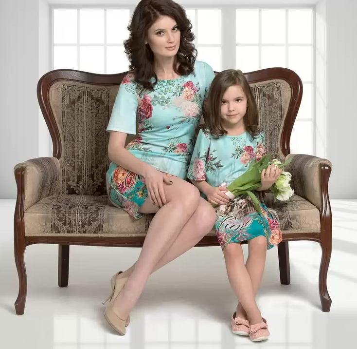 Сбор заказов. Мама и дочка в одинаковых нарядах! Российский бренд модной и стильной одежды для любимых дочек и мам. Новая коллекция Весна-Лето 2015. Есть коллекция и для женщин с благородными формами р.50-60.