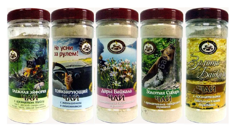 Шикарные натуральные Байкальские чаи!