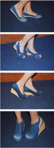 Сбор заказов. Джинсовая обувь. Турция. Сапоги, ботинки, туфли, балетки, сабо, босоножки, сандали. Отзывы.