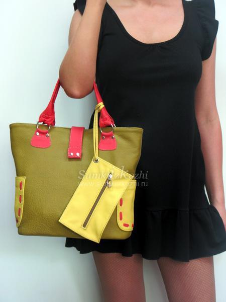 Красивые, яркие женские сумки из натуральной кожи от 894 руб российского пр-ва.