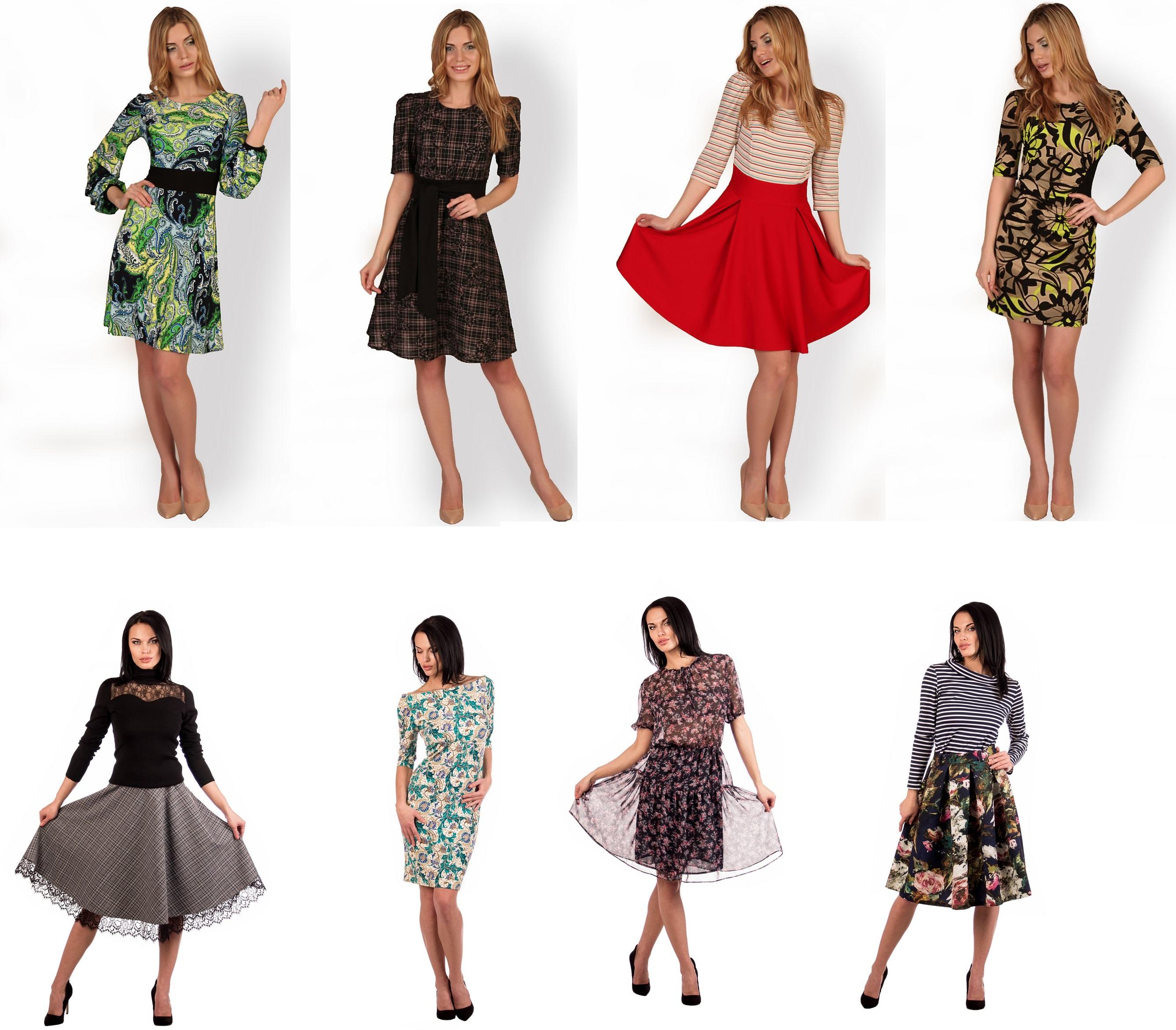 Утончённый дизайн, современный стиль, идеальный крой - 13. Платья, юбки, блузы... От 40 до 58 размера. Без рядов!