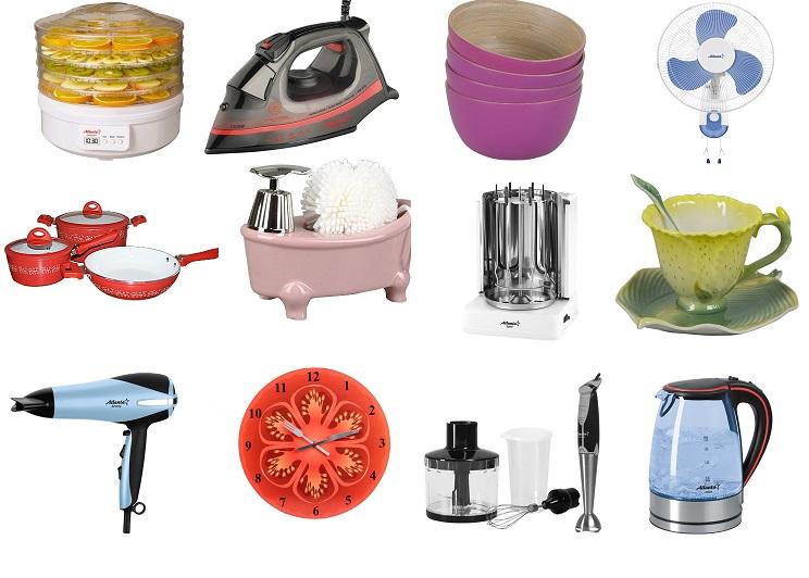 3000 идей для дома и сада! Мелкая бытовая техника: от блендеров, фенов, утюгов до мультиварок и пылесосов! Посуда