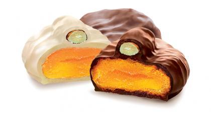 Сбор заказов. Кондитерская фабрика. Орехи и сухофрукты в шоколадной глазури, вкуснейшие шоколадные конфеты, апельсиновые и лимонные корочки.