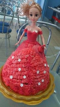 Торт кукла.