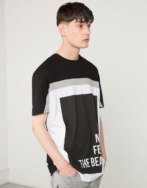 Мужские футболки Bershka