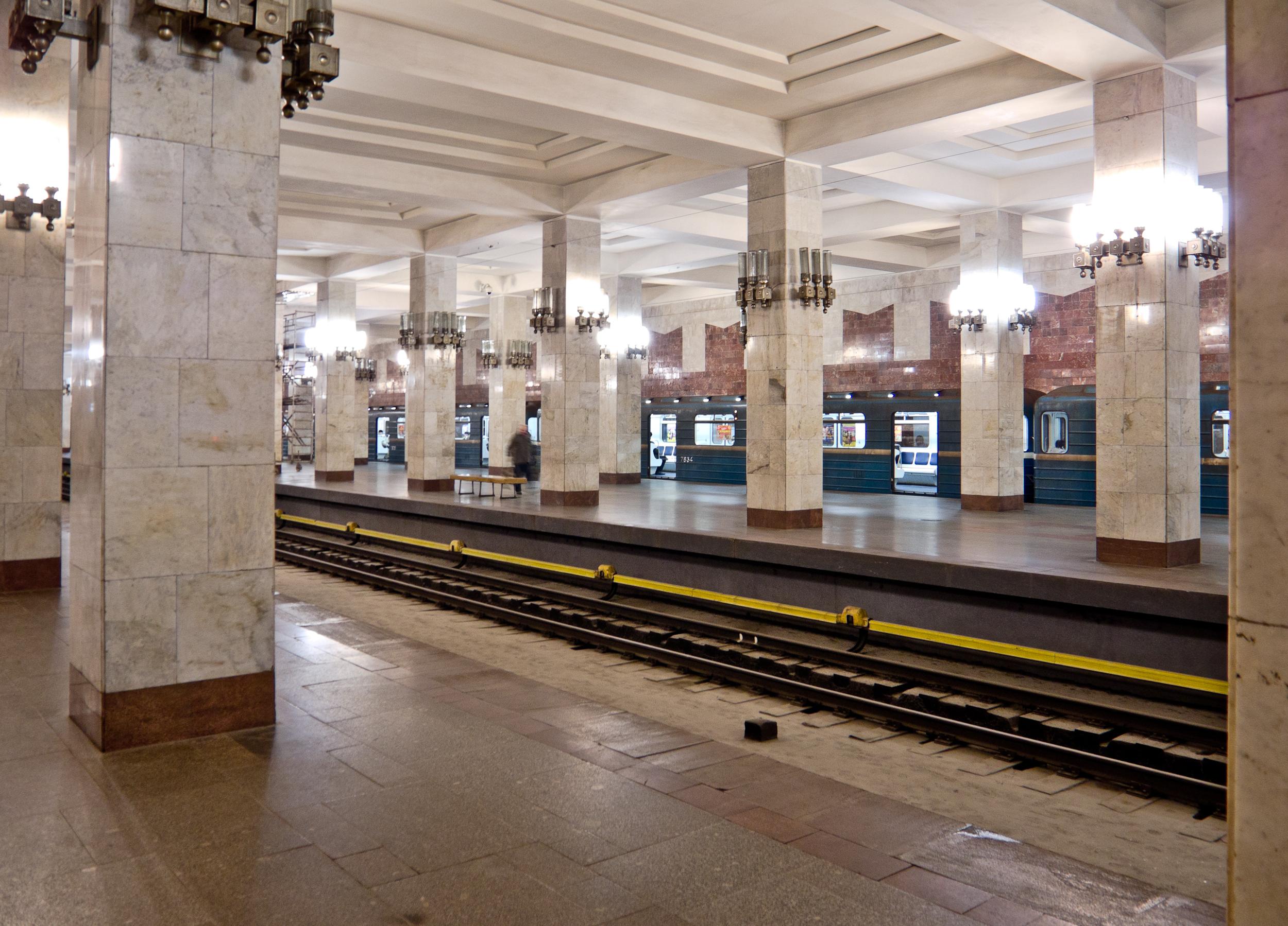 И снова о метро: архивы телеканала Волга!