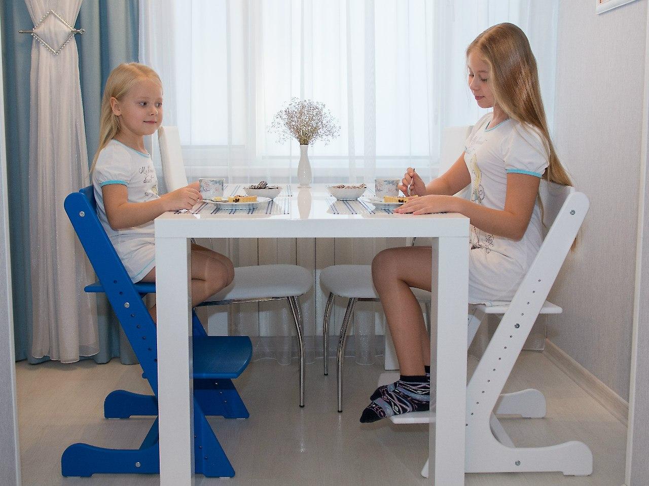 Конёк ГорбунЁк любимый растущий (регулируемый) стульчик для детей. - 8