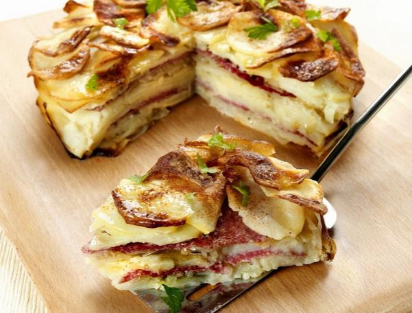 Картофельный пирог Чипс