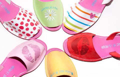 Абаркас - летняя испанская обувь с острова Менорка. Без рядов-9.
