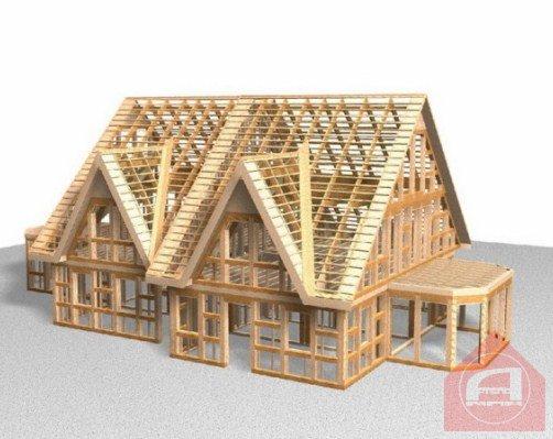 Дома, построенные по технологии ЭкоКуб