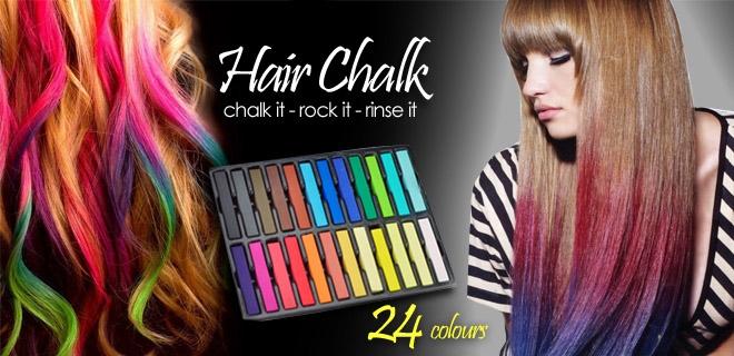 ���� �������. ����� ��� ����� Hair Chalkin. ������ �����