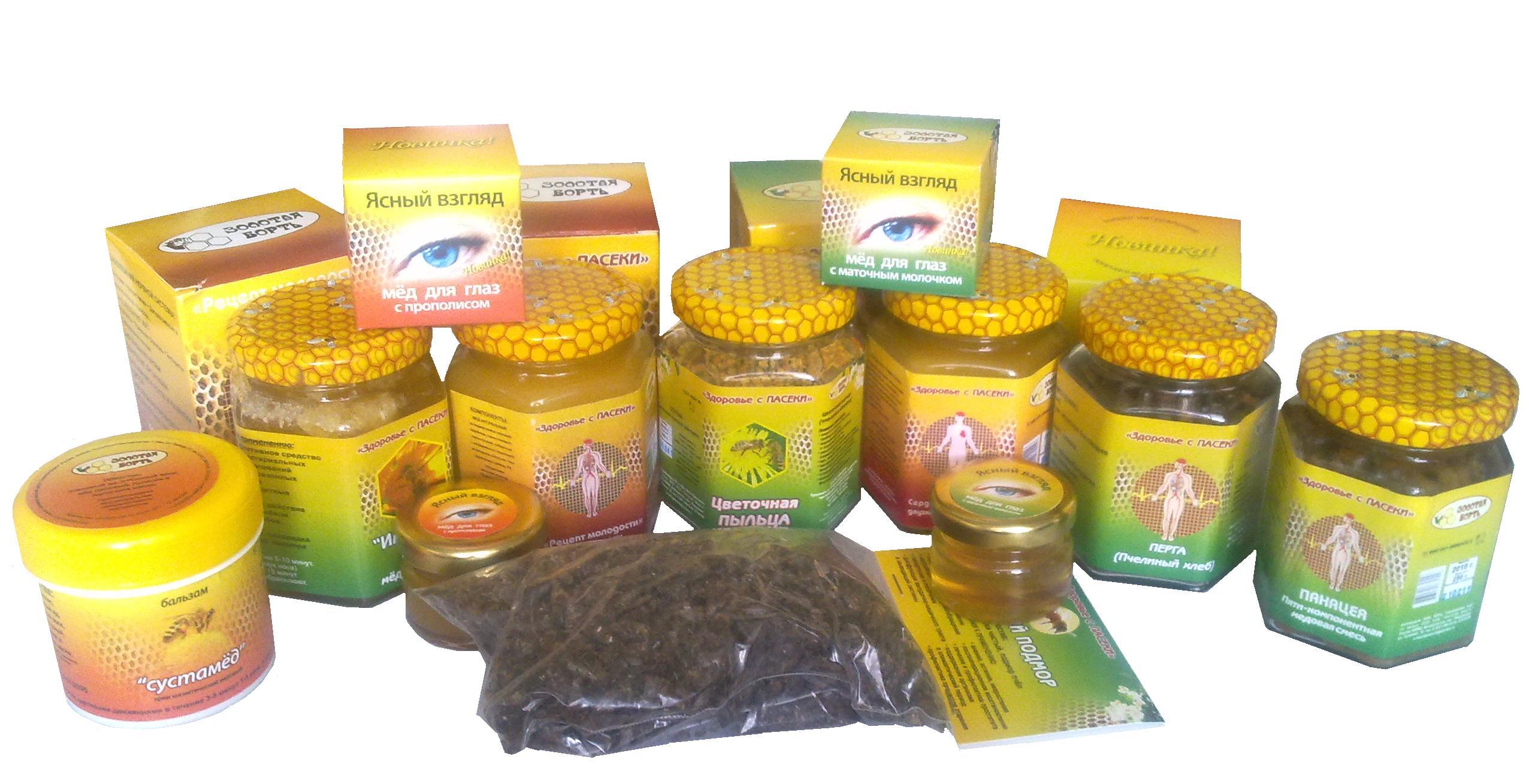 По Вашим просьбам: Пчелиная продукция от Золотой Борти